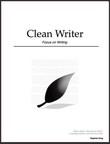 cleanwriter