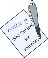Content writer for websites