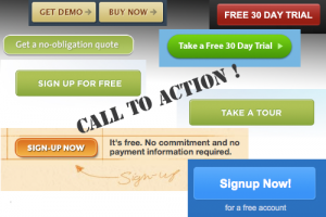 call to action content writing