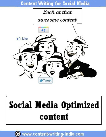 conten writing social media